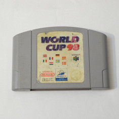 Joc consola Nintendo 64 N64 - World Cup 98, Actiune, Toate varstele, Single player