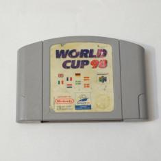Joc consola Nintendo 64 N64  - World Cup 98, Actiune, Toate varstele, Single player