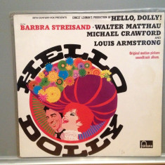 "Original Soundtrack ""HELLO DOLLY""-L.ARMSTRONG(1969/FONTANA/RFG)- VINIL/Impecabil, emi records"