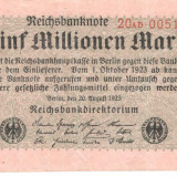 Germania 5.000.000 marci 1923