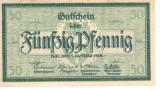 Germania 50 pfennig 1918 KIEL DEN