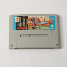 Joc consola Super Nintendo SNES - International Superstar Soccer Deluxe, Actiune, Toate varstele, Single player
