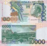 Sao Tome si Principe 10 000 Dobras 22.10.1996 UNC