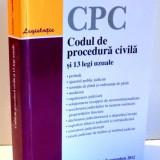 CODUL DE PROCEDURA CIVILA SI 13 LEGI UZUALE, EDITIA A XX-A, 2012