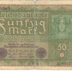Germania 50 marci 1919