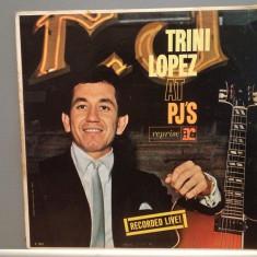 TRINI LOPEZ - AT PJ'S (1963/REPRISE/USA) - Disc RAR/VINIL - Muzica Pop warner