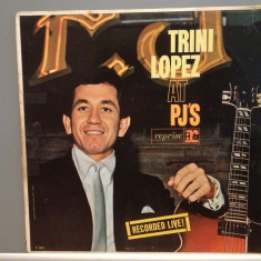 TRINI LOPEZ - AT PJ'S (1963/REPRISE/USA) - Disc RAR/VINIL - Muzica Pop warner