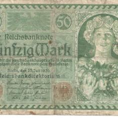 Germania 50 marci 1920