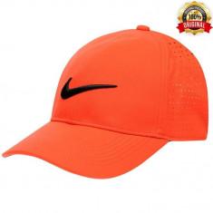 Sapca Nike Legacy Portocalie - Originala - Reglabila - 100% Poliester - Sapca Barbati Nike, Marime: Marime universala, Culoare: Piersica