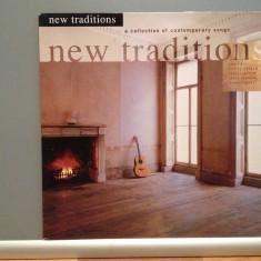 NEW TRADITIONS - VARIOUS ARTISTS: Chris Rea..(1990/TELSTAR/RFG)- VINIL/Impecabil - Muzica Pop emi records