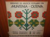 -Y-   INTERPRETI DE MUZICA POPULARA MUNTENIA - OLTENIA -  DISC VINIL