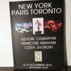 Expoziţie de pictură şi sculpturăGevork Chubaryan, Françoise Abraham, C Dvorezky - Album Pictura