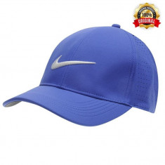 Sapca Nike Legacy Albastra - Originala - Reglabila - 100% Poliester - Sapca Barbati Nike, Marime: Marime universala, Culoare: Albastru