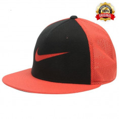 Sapca Nike NSW True - Originala - Reglabila - 100% Poliester - Detalii in anunt - Sapca Barbati Nike, Marime: Marime universala, Culoare: Rosu