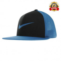 Sapca Nike NSW True - Originala - Reglabila - 100% Poliester - Detalii in anunt - Sapca Barbati Nike, Marime: Marime universala, Culoare: Albastru