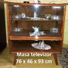 Masa televizor, furnir 76 x 46 x 93 cm - Masa living