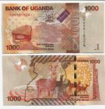 UGANDA- 1000 SHILLINGS 2017- UNC!!
