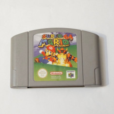 Joc consola Nintendo 64 N64 - Super Mario 64, Actiune, Toate varstele, Single player