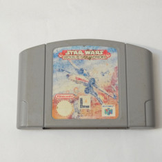 Joc consola Nintendo 64 N64 - Star Wars Roque Squadron, Actiune, Toate varstele, Single player