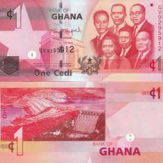 Ghana 1 Cedi 01.07.2015 UNC