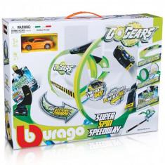 Circuit Go Gear Super Spin - Vehicul Bburago