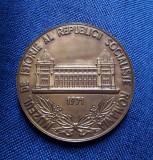 Medalie Muzeul de Istorie RSR - 1971