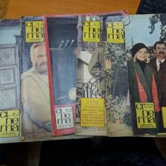 LOT DE 7 REVISTE CINEMA 1967 - 1988 - Revista culturale