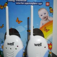 Interfon monitorizare bebeluși Well - Baby monitor Generic