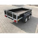 Remorca 750 Kg 2 axe dimensiune 240x125x35 cm Obloane Tego - Utilitare auto