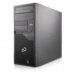 Calculator Fujitsu Esprimo P700 E85+ Tower, Intel Core i3 Gen 2 2120 3.3 GHz, 4 GB DDR3, 320 GB HDD SATA, DVDRW, Windows 10 Home, 3 Ani Garantie