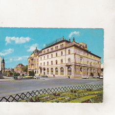 Bnk cp Oradea - Hotel Transilvania - uzata - Kruger 1488/1 - Carte Postala Crisana dupa 1918, Circulata, Printata
