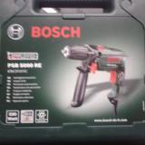 Masina de gaurit cu percutie Bosch PSB 5000 RE, 500W, 3000 RPM, Acumulator