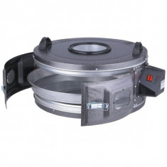 Cuptor electric rotund Harlem® Rustic XXL, Tava de aluminiu, 1300W, 48L