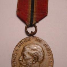 Medalia Jubiliara Carol I 1866 1906 pentru Militari - Ordin