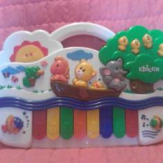 Pian muzical interactiv Chicco - Reducere - Jucarie interactiva Chicco, Unisex, Plastic