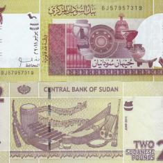 Sudan 2 Pounds 06.2011 UNC