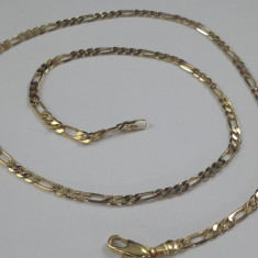 Lantisor Unisex, dublu placat aur 18K Cod produs: 4311 - Lantisor placate cu aur