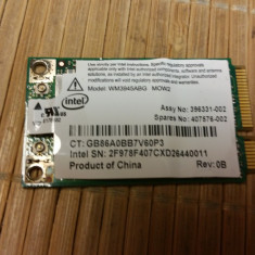 Placa Wireless Laptop Intel Anatel WM3945ABG