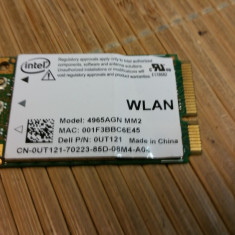 Placa Wireless Laptop Intel 4965AGN MM2