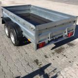 Remorca 750 Kg 2 axe dimensiune 260x135x38 cm - Utilitare auto