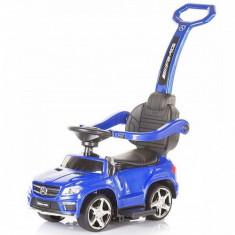Masinuta de impins Mercedes Benz GL63 AMG Blue Chipolino - Vehicul