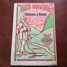 Partitura Muza Romana - Cozaceasca si Arcanul - 4 pagini !