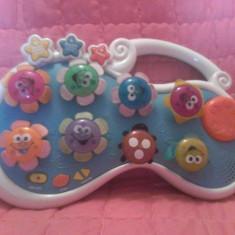 Jucarie - Pian muzical cu floricele foarte dragut - Jucarie interactiva, Unisex, Plastic