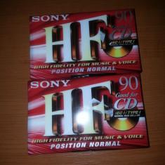 Lot 2 casete audio noi sigilate Sonny 90 min Thailand