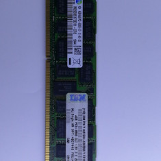 Lot 20 Module DDR3 4GB 2Rx8 PC3-8500R RAM Server Memory Samsung 43X5055 IBM - Memorie server Samsung, 1066 mhz