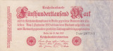 GERMANIA 500.000 marci 1923 VF+++!!!