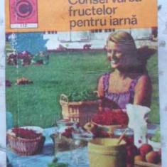 Conservarea Fructelor Pentru Iarna - Natalia Tautu-stanescu, 408459 - Carte Retete culinare internationale