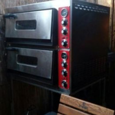 Cuptor electric pizza 2 corpuri, 3500 W