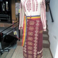 Vând Costum Popular - Costum populare, Marime: 40, Culoare: Alb