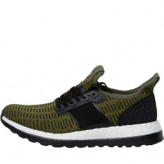 Adidasi Adidas Pure Boost ZG Primeknit Neutral Running Shoes marimea 39 1/3 - Adidasi barbati, Culoare: Verde, Textil